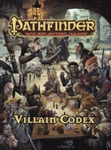 Pathfinder Roleplaying Game: Villain Codex, Hardback Book