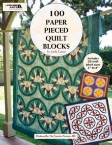 100 Paper Pieced Quilt Blocks, Mixed media product Book