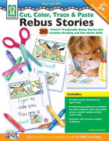 Cut, Color, Trace & Paste Rebus Stories, Ages 5 - 8, PDF eBook