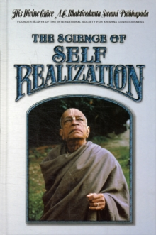 The Science of Self-Realization, Hardback Book