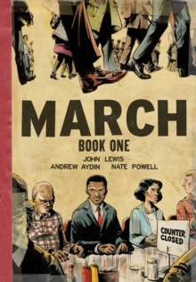 March Book One (Oversized Edition), Hardback Book