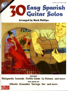 30 Easy Spanish Guitar Solos, Paperback Book