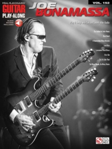 Guitar Play-Along Volume 152 : Joe Bonamassa (Book/Online Audio), Paperback Book