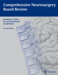 Comprehensive Neurosurgery Board Review, Paperback Book