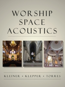 Worship Space Acoustics, Paperback Book
