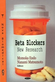 Beta Blockers : New Research, Hardback Book