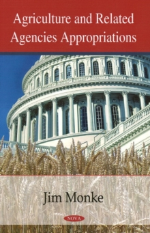 Agriculture & Related Agencies Appropriations, Paperback Book