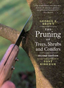 The Pruning of Trees,Shrubs and Conifers, Paperback / softback Book