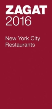 2016 New York City Restaurants, Paperback Book