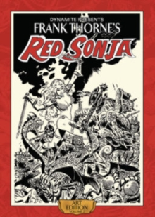 Frank Thorne's Red Sonja : Volume 2, Hardback Book