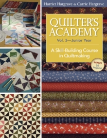 Quilter's Academy Vol. 3 Junior Year : A Skill-Building Course in Quiltmaking, EPUB eBook