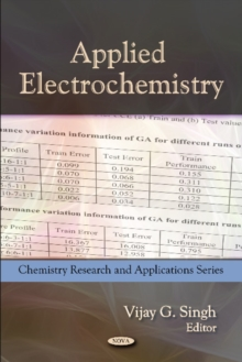 Applied Electrochemistry, Hardback Book