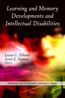 Learning & Memory Developments & Intellectual Disabilities, Hardback Book