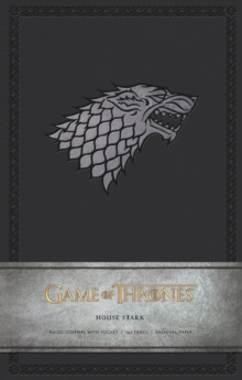 Game of Thrones: House Stark Hardcover Ruled Journal, Hardback Book