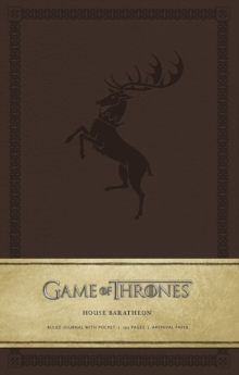 Game of Thrones: House Baratheon Hardcov, Hardback Book