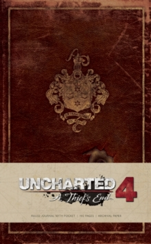 Uncharted Hardcover Ruled Journal, Hardback Book