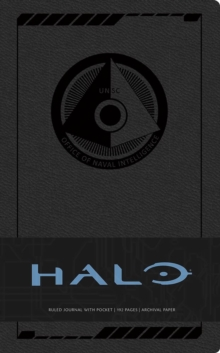 Halo Hardcover Ruled Journal, Hardback Book
