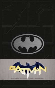 Batman Hardcover Ruled Journal, Hardback Book