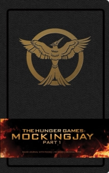 Hunger Games: Mockingjay Part 1 Hardcover Ruled Journal, Hardback Book