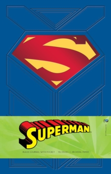 Superman Hardcover Ruled Journal, Hardback Book