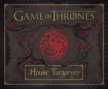Game of Thrones: House Targaryen Deluxe Stationery Set, Hardback Book