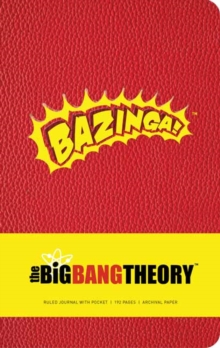 Big Bang Theory Hardcover Ruled Journal, Hardback Book