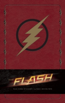 Flash Hardcover Ruled Journal, Hardback Book
