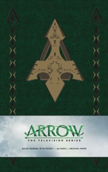 Arrow Hardcover Ruled Journal, Hardback Book