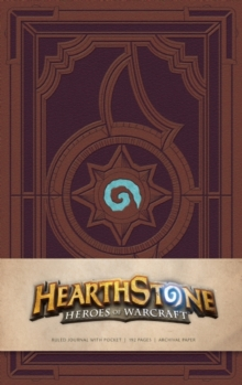 Hearthstone Hardcover Ruled Journal, Hardback Book