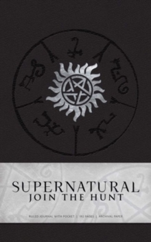 Supernatural Hardcover Ruled Journal, Hardback Book