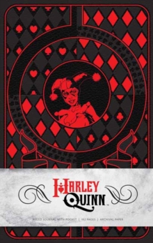 Harley Quinn Hardcover Ruled Journal, Hardback Book