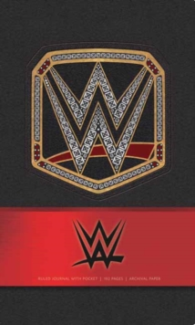 WWE Hardcover Ruled Journal, Hardback Book