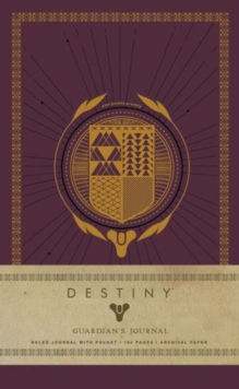 Destiny: Guardian's Journal, Hardback Book