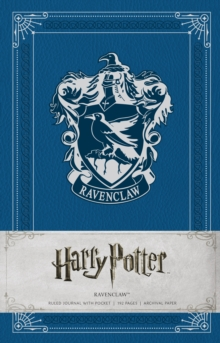 Harry Potter: Ravenclaw Ruled Pocket Jou, Hardback Book