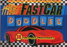 FastCar Doodles : 36 Tear-Off Placemats, Paperback Book