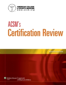 ACSM's Certification Review, Paperback Book