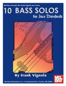 10 Bass Solos For Jazz Standards, PDF eBook