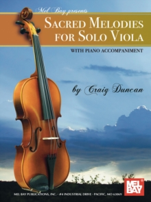 Sacred Melodies for Solo Viola, PDF eBook