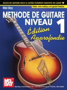 """Modern Guitar Method"" Series Grade 1, Expanded Edition - French Edition, PDF eBook"