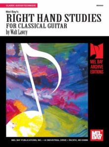 Right Hand Studies for Classic Guitar, PDF eBook
