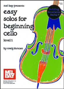 Easy Solos for Beginning Cello Level 1, PDF eBook