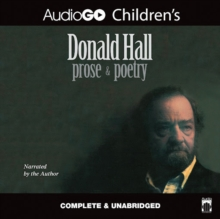 Donald Hall: Prose & Poetry, eAudiobook MP3 eaudioBook