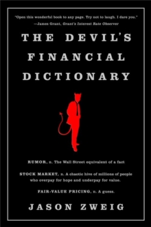 The Devil's Financial Dictionary, Paperback Book