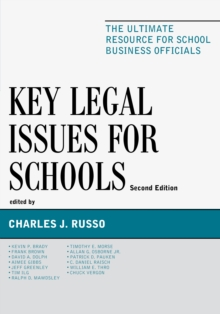 Key Legal Issues for Schools : The Ultimate Resource for School Business Officials, EPUB eBook