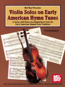 Violin Solos on Early American Hymn Tunes, PDF eBook