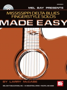 Mississippi Delta Blues Fingerstyle Solos Made Easy, PDF eBook