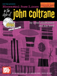 Essential Jazz Lines in the Style of John Coltrane, Bass Clef Edition, PDF eBook