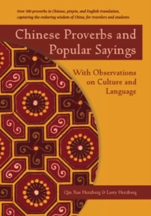 Chinese Proverbs and Popular Sayings : With Observations on Culture and Language, EPUB eBook