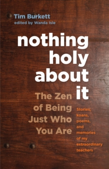 Nothing Holy About It, Paperback Book