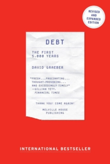 Debt : The First 5000 Years, Paperback / softback Book